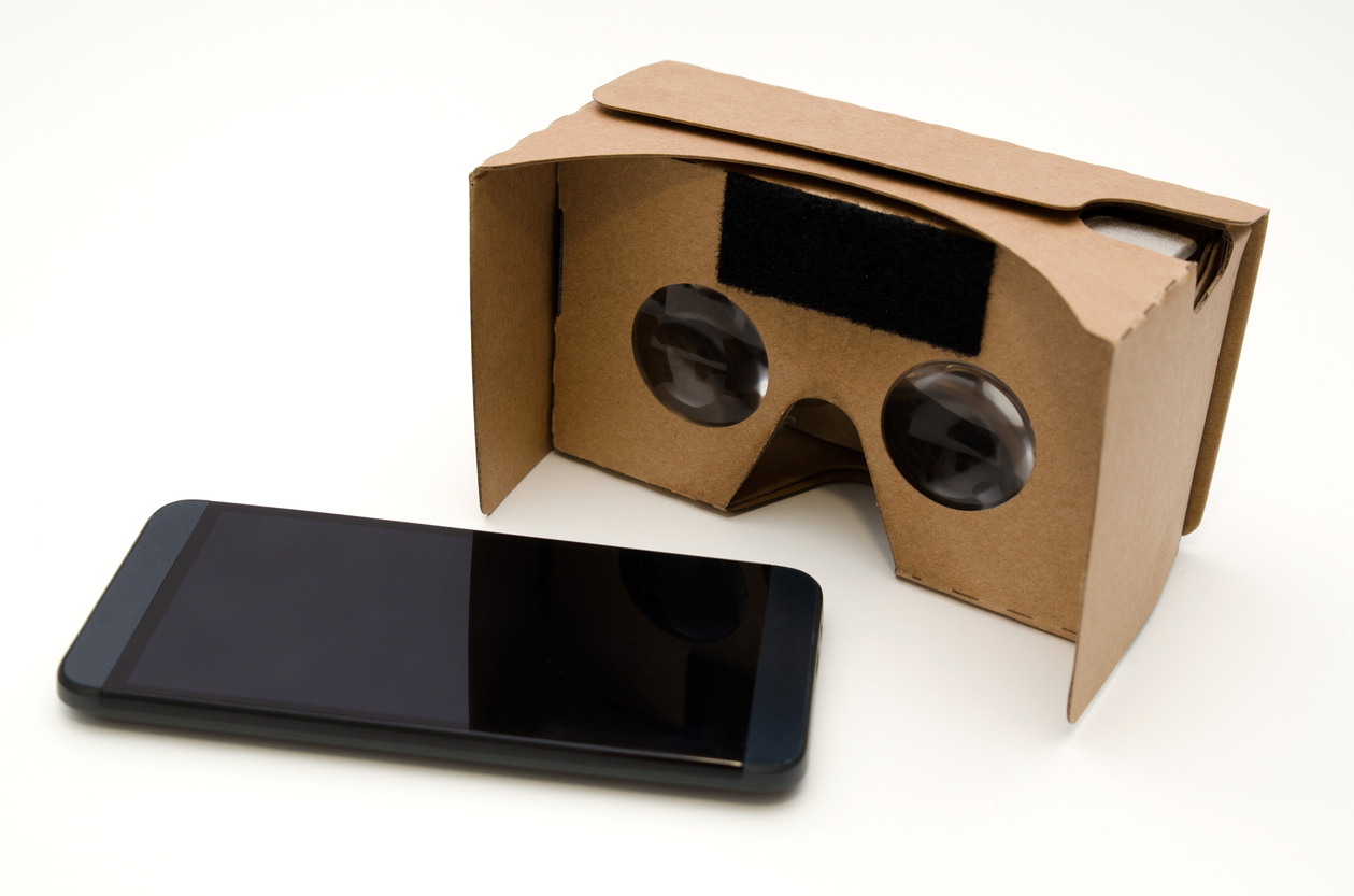 Cardboard per realtà virtuale